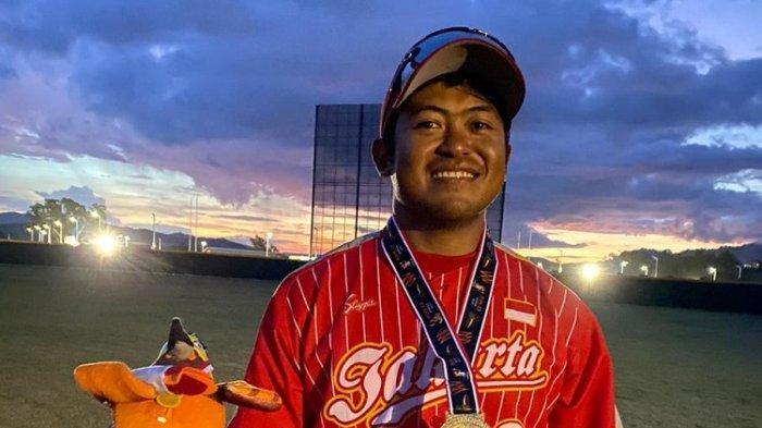 Aditya Aulia Rachman, Karyawan WEGE yang jadi anggota tim Baseball DKI Jakarta di PON XX Papua 2021.