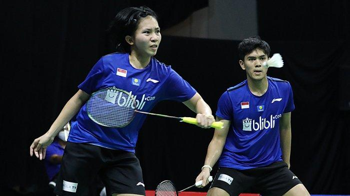 Adnan/Mychelle Pasangan Muda Ganda Campuran Indonesia Melaju Ke Babak Kedua Kalahkan Eloi/Margot