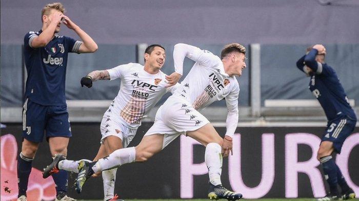 Kesalahan Arthur, Gol Adolfo Gaich Bawa Kemenangan Benevento Calcio 1-0 Atas Juventus