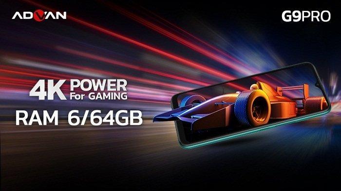 Harga Rp 1,6 Juta, Advan G9 Pro Meluncur dengan RAM dan ROM Lebih Besar dari G9, Ini Spesifikasinya