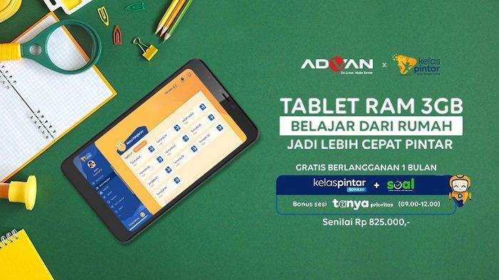 Advan Tab 8elajar, Gadget Pintar Bantu Anak Belajar dari Rumah