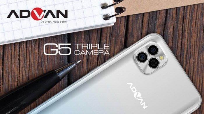 Advan G5 Usung Tiga Kamera Belakang 13 Megapiksel