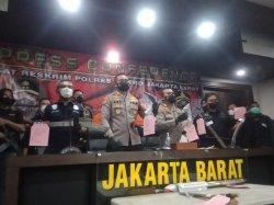 Polres Metro Jakarta Barat Tangkap Empat Koboi Tebet yang Rusuh di Mangga Besar