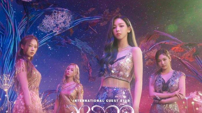 Grup K-Pop Aespa Beraksi di Babak Spektakuler Show Top 8 Indonesian Idol Special Season Malam Ini