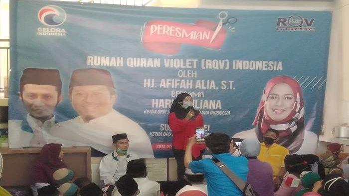 Afifah Alia: Rumah Quran Violet Dapat Atasi Buta Huruf Alquran di Depok, Bakal Perbanyak Rumah Quran