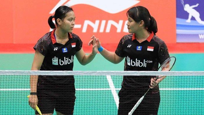 Agatha Imanuela/Siti Fadia Raih Perunggu di Kejuaraan Dunia Junior