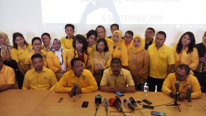 Agus Gumiwang Kartasasmita Absen dalam Serah Terima SK Ketua DPD Golkar DKI