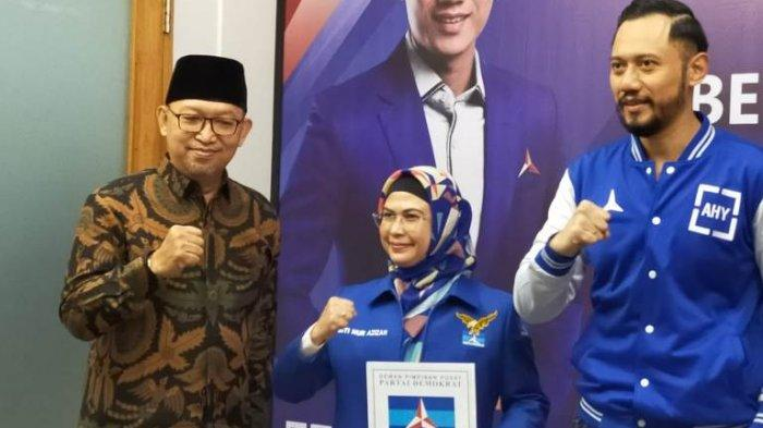 Partai Demokrat Resmi Usung Siti Nur Azizah dan Ruhamaben, Koalisi Partai Memiliki Jumlah 13 Kursi