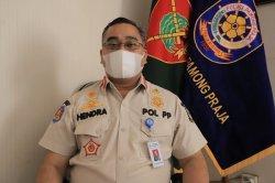 Satpol PP Kota Tangerang Gelar Tes GeNose di Pasar Lama, Hasilnya Sejumlah Orang Terpapar Covid-19