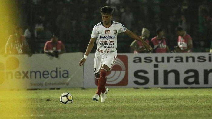 Bek Bali United FC Agus Nova Wiantara Diputus Kontraknya Oleh Manajemen Serdadu Tridatu