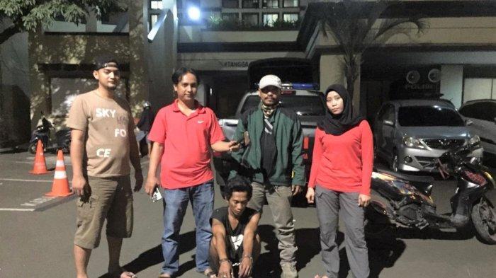 Bawa-bawa Kapak, Pria di Tanjung Priok Diamankan Tim Tiger Bravo Polres Jakarta Utara