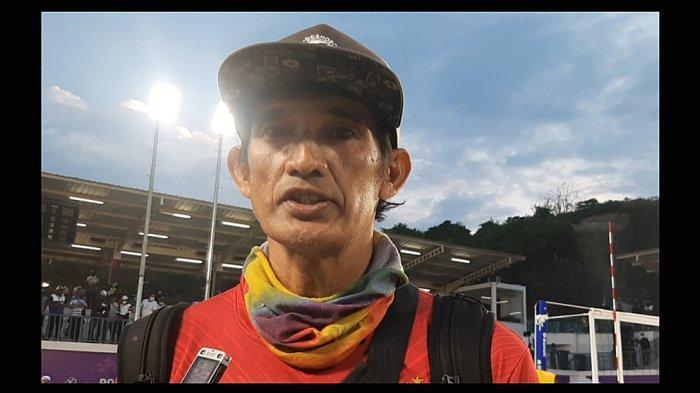Racikan dan Strategi Agus Salim Pelatih Voli Pantai Putri NTB Berhasil Persembahkan Medali Emas