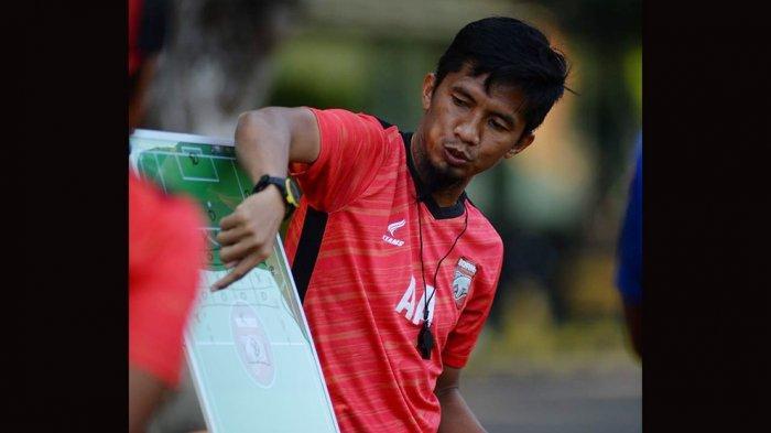 Ahmad Amiruddin pelatih caretaker Borneo FC