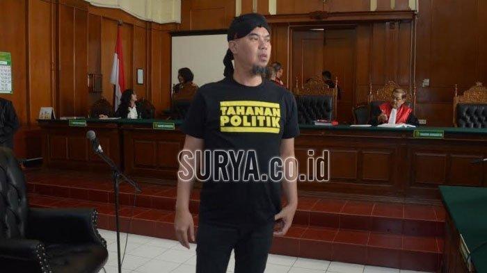 Ahmad Dhani Kerap Pakai Kaus Bertuliskan Tahanan Politik Selama Mendekam di Rutan Cipinang