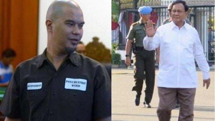 Prabowo Jadi Menteri Pertahanan, Reaksi Ahmad Dhani: Kita Mulai dari Nol Lagi