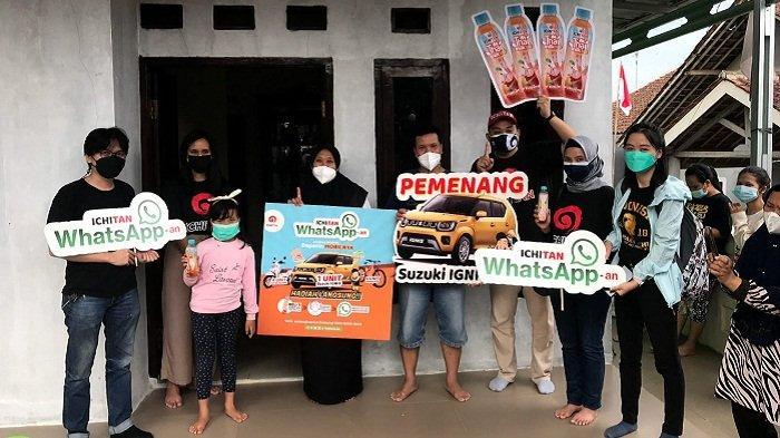 Hadiah Suzuki Ignis dari Ichitan WhatsApp-an Diraih Pejuang Tenaga Kesehatan Asal Sukajaya Bogor