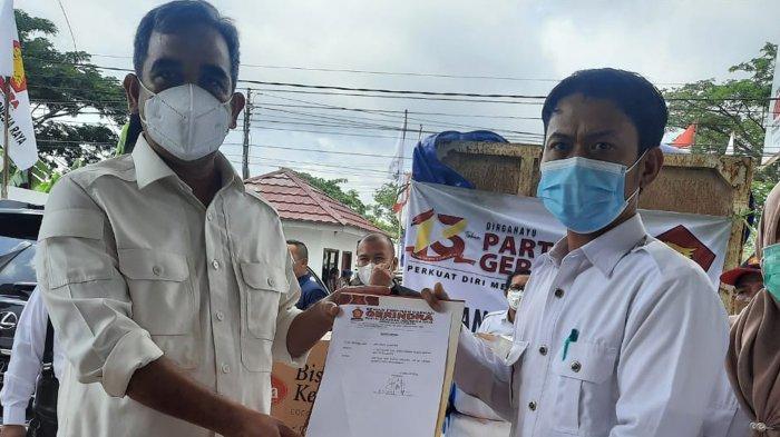Potong Gaji Anggota DPR, Gerindra Salurkan Bantuan ke Lokasi Banjir Terparah di Kalimantan Selatan