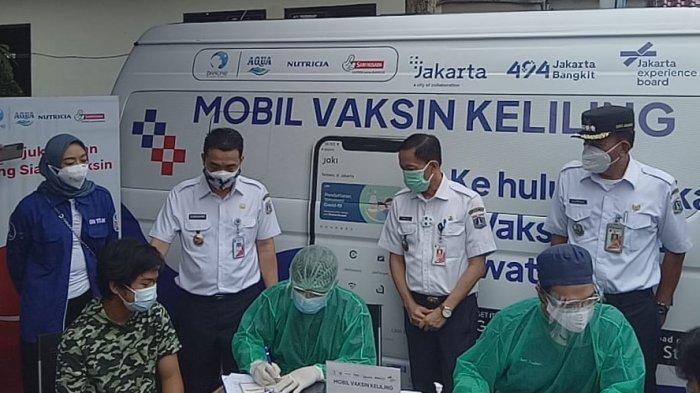 LOKASI Mobil Vaksin Keliling Kamis 15 Juli 2021 di Jakarta Utara dan Jakarta Selatan