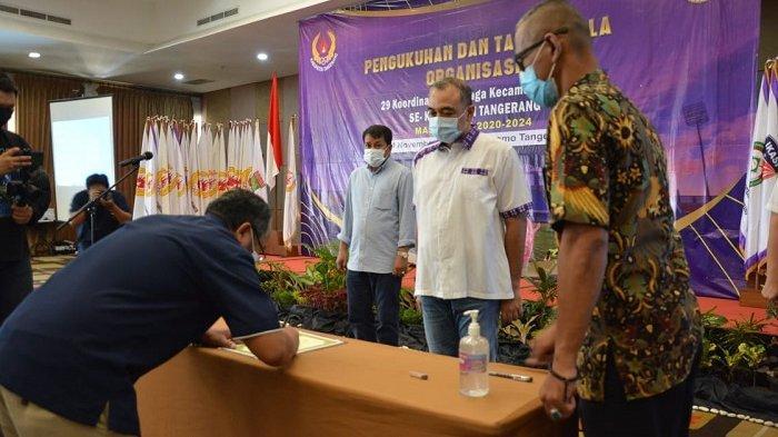 Pesan Bupati Tangerang ke Pengurus KOK Jaga GOR Mini Jangan Sampai Jadi Monumen Kosong Tak Terawat