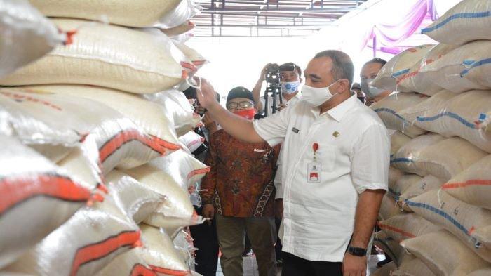 Hadapai Musim Kemarau, Bupati Tangerang, Ahmed Zaki Iskandar, Resmikan Gudang Ketahanan Pangan
