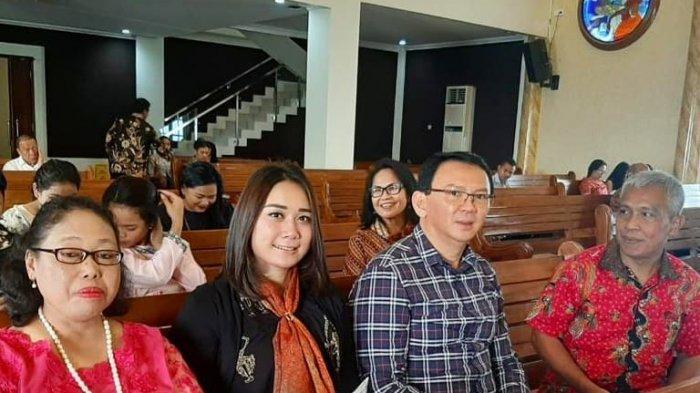 Kabar Terbaru, Ahok dan Puput Nastiti Devi Bersama ke Gereja, Penampilannya Bikin Orang Kagum