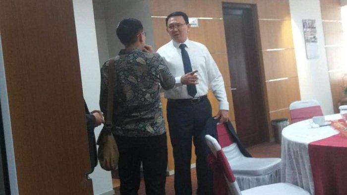 Ahok dan Djarot Hadiri Pelantikan Anggota DPRD DKI Periode 2019-2024, Mengaku Tidak Janjian