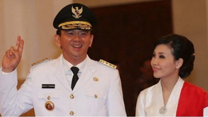 Tiga Alasan Ahok Jatuh Cinta Pada Veronica Tan, No 3 Ada Bagian Tubuh yang Bikin Hoki