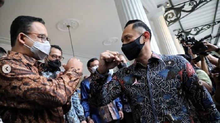 Anies Unggah Foto Saat Dikunjungi AHY Langsung Dibanjiri Dukungan, Netizen: Capres dan Wapres, Amin!