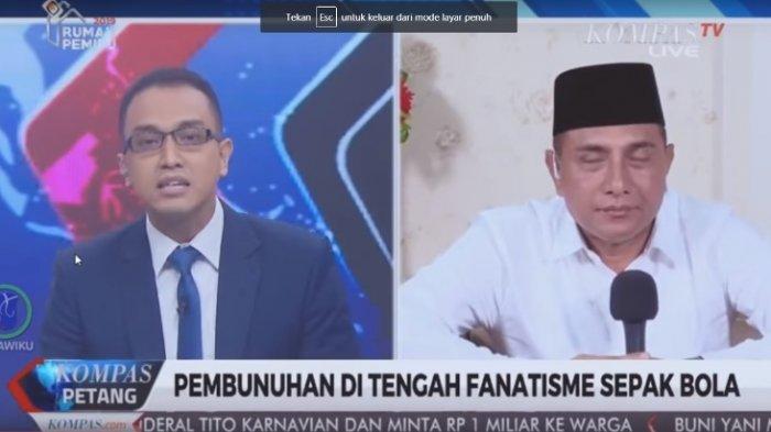 Edy Rahmayadi Merasa Dihakimi KompasTV, Simak Transkrip Lengkap Wawancaranya