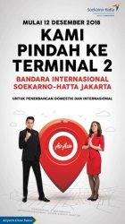 Penerbangan AirAsia di Bandara Soetta Pindah Terminal Mulai 12 Desember 2018