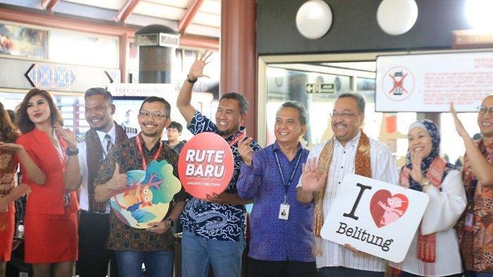 Air Asia Kini Layani Dua Rute Baru ke Bangka Belitung dan Sorong dari Bandara Soekarno Hatta