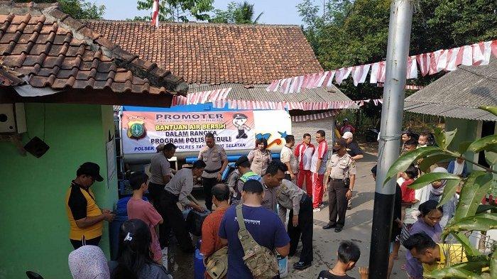 Kekeringan Kian Parah, Warga Tangerang Selatan Semakin Resah