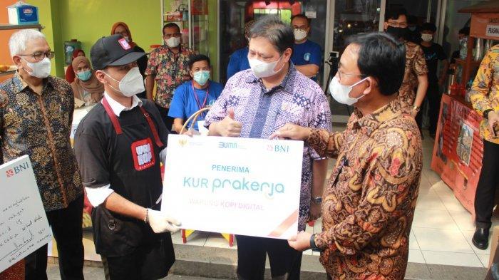 Gerakan Perekonomian Rakyat, Menko Perekonomian Airlangga Hartarto Dukung Warkop Digital Bogor