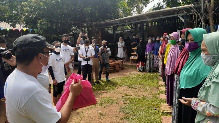 IAEETA AirNav Gelar Bakti Sosial di Banksasuci Tangerang