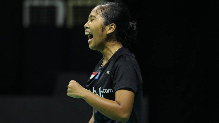 Di pertandingan terakhir Aisyah Sativa Fatetani berhasil mengalahkan Ester Nurumi Tri Wardoyo dengan skor 21-18, 21-19
