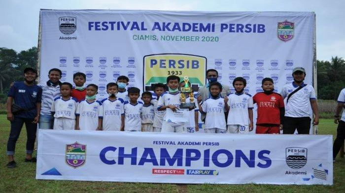 Akademi Persib Bandung Kota Bogor Juara Tiga di Festival Akademi Persib Jawa Barat U-12