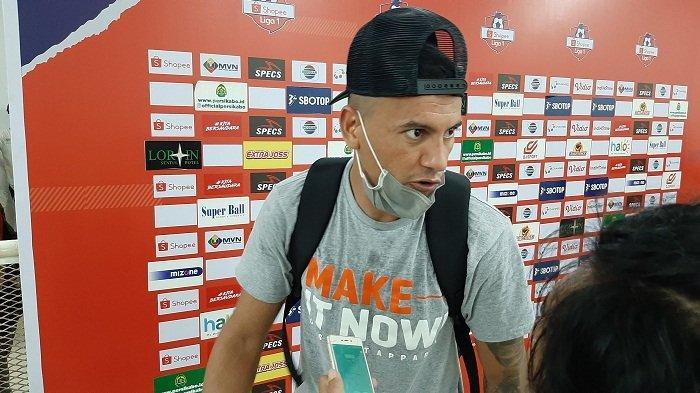 Alex Dos Santos Enggan Bikin Target Gol di Liga 1 2020