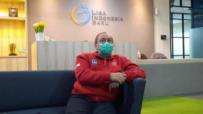 Dirut PT LIB Akhmad Hadian Lukita Sambut Baik Rencana Pertemuan Menpora Zainudin Amali dan Kapolri