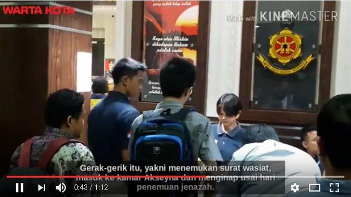 Djibril Empat Jam Kerjakan Soal Psikologi, Kasus Pembunuhan Akseyna