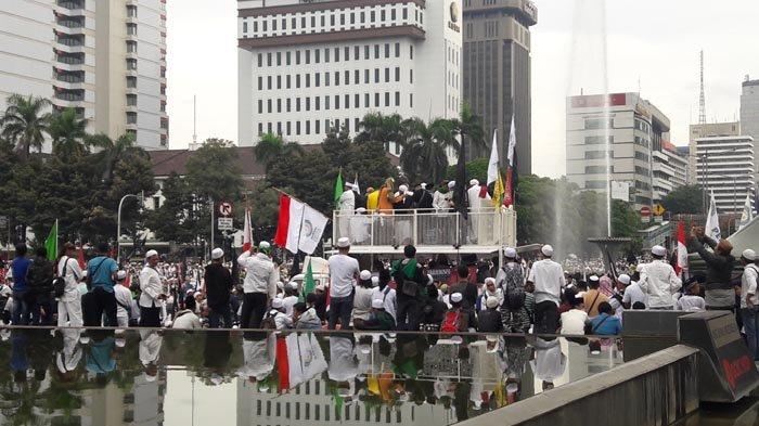 Massa Aksi 313 Ancam Geruduk Mako Brimob Jika Sekjen FUI Tidak Dibebaskan