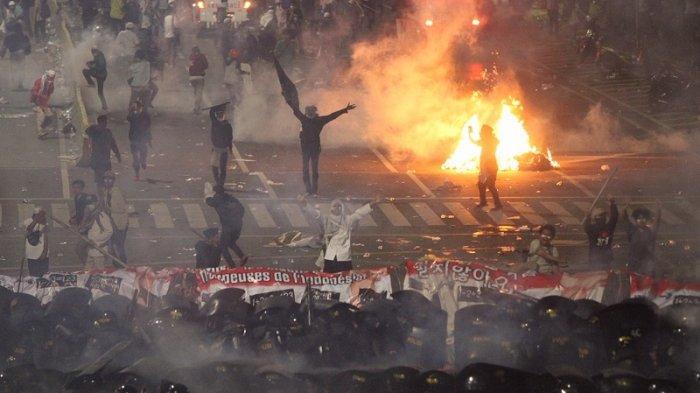Delapan Orang Tewas, Polri Gandeng Komnas HAM Usut Kerusuhan Aksi 22 Mei