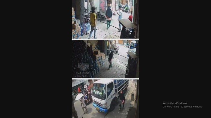 BIKIN RESAH! Komplotan Preman Ini Bebas Memalak Warga di Warakas Tanjung Priok, Ini Videonya