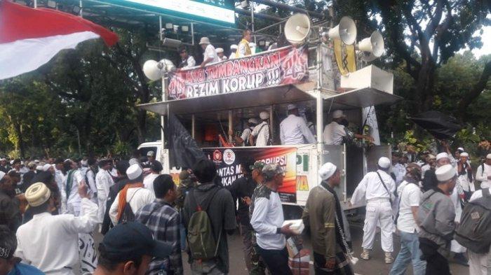 Ikut Orasi Aksi 212 di Monas, Marwan Batubara Singgung Ahok hingga Yasonna Laoly