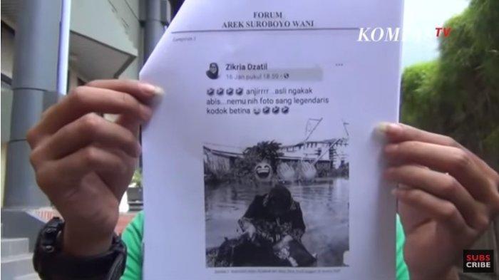 Penghina Wali Kota Surabaya Mengaku Sedang Mengisi Energi Saat Pintu Rumahnya Diketok Polisi