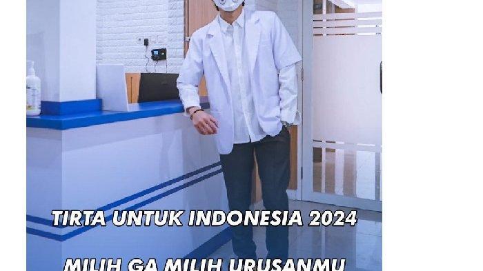 2 Alasan Dokter Tirta Siap Ikut Pilpres 2024 Bersaing dengan Giring: Pilih Presiden Naik RX King!