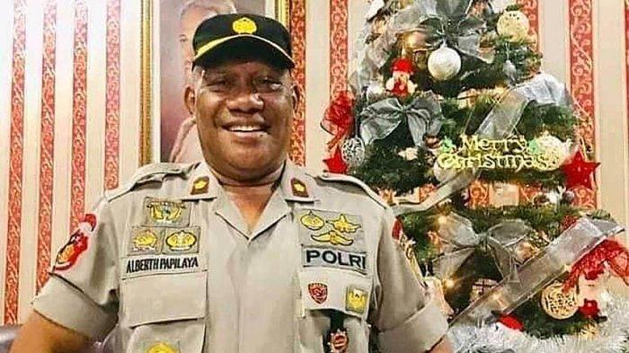 Kompol Albert Papilaya Mantan Petinju Nasional Meninggal Dunia Karena Sakit di Ternate