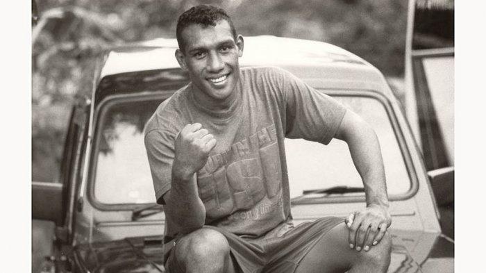 Albert Papilaya saat masih aktif sebagai petinju amatir nasional di kelas 75 kg