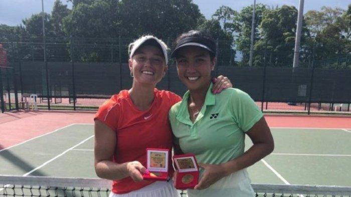 Aldilla Sutjiadi dan Paige Juara di Singapura