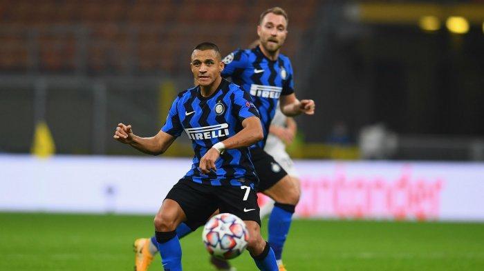 Starting XI dan Live Streaming Inter Milan vs AC Milan, Alexis Sanchez Starter Dampingi Lukaku