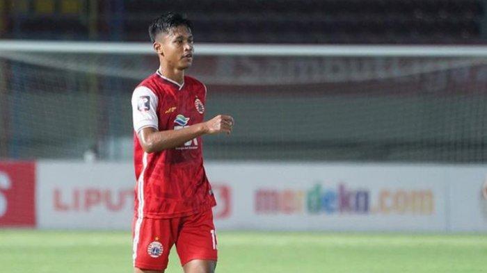 Striker Persija Jakarta Alfriyanto Nico Saputro Merasa Nyaman Main di Bek Kanan Seperti Marco Motta